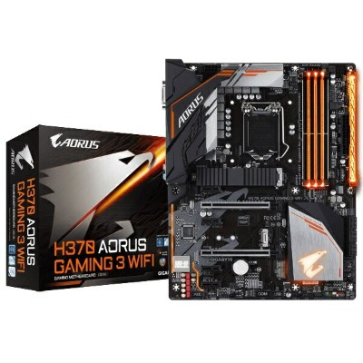 GIGABYTE H370 AORUS Gaming 3 WIFI Intel H370チップセット搭載ATXマザーボード