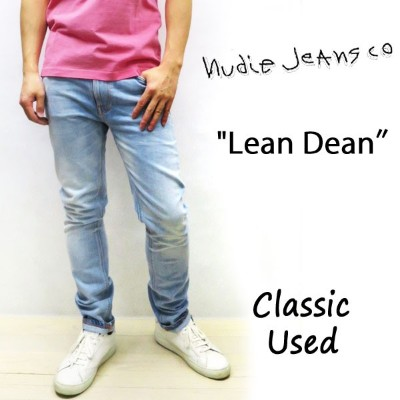 2018SS☆ NUDIE JEANS LEAN DEAN ヌーディージーンズ リーンディーン クラシックユーズド[ (N862) CLASSIC USED ] 47161-1140 SKU...