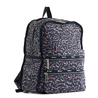 レスポートサック バックパック LESPORTSAC FUNCTIONAL BACKPACK 2296 G015 FAIRY FLORAL BLUE