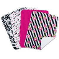 Trend Lab Set of 4 Burp Cloth, Zahara by Trend Lab [並行輸入品]
