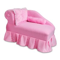 Fantasy Furniture Princess Chaise, Pink by Fantasy Furniture [並行輸入品]