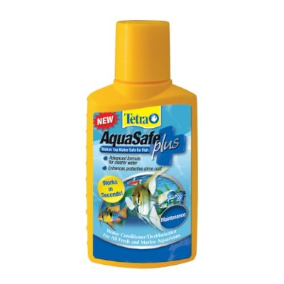 Tetra 16213 AquaSafe Plus Water Conditioner, 16.90-Ounce, 500-Ml by Tetra