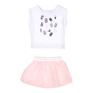 CONVERSE ALL STAR Tee And Tutu Hanging Set セット ホワイト