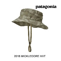 2018 PATAGONIA パタゴニア 帽子 ハット MICKLEDORE HAT ROCS ROCK CAMO: SHALE