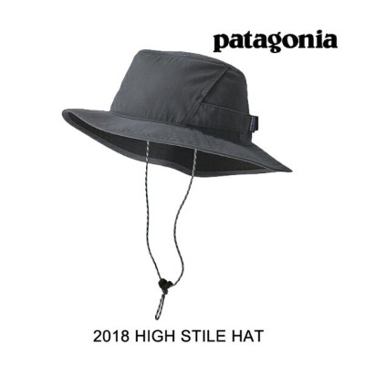 2018 PATAGONIA パタゴニア 帽子 ハット HIGH STILE HAT FGE FORGE GREY