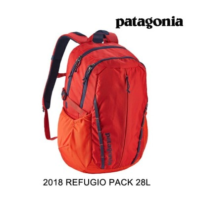 2018 PATAGONIA パタゴニア バックパック REFUGIO PACK 28L PBH PAINTBRUSH RED