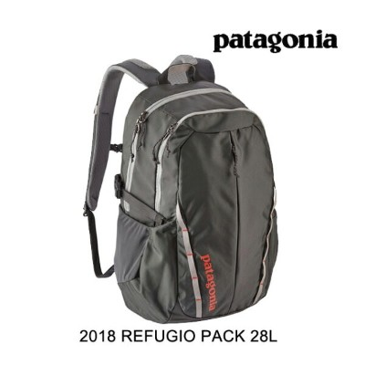 2018 PATAGONIA パタゴニア バックパック REFUGIO PACK 28L FGE FORGE GREY