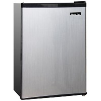 2.4 cu.ft. Refrigerator STAINLESS
