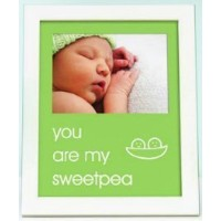 Pearhead - sentiment frame - you are my sweetpea - green - 70175 by Pearhead [並行輸入品]