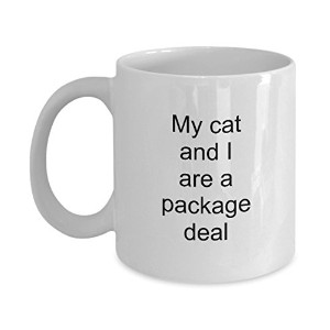 Funny Mug–猫と私はA Package Deal