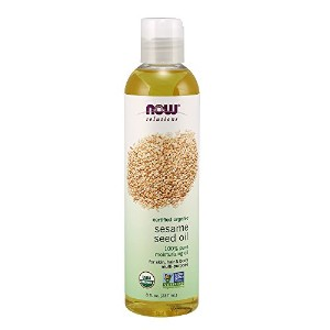 Now Foods Organic Sesame Seed Oil, 0.55 Pound