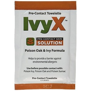 Coretex 83640 Products Ivyx Pre-Contact Towelettes, 25 Count by Coretex