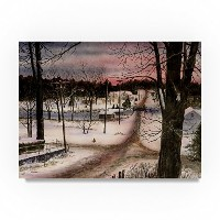"""A Winters Day byジョン・Morrow 24 x 32"""" ALI21172-C2432GG"""