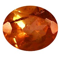 アンダルサイ​​ト ルーズジェームズ 0.36 ct AAA Oval Shape (5 x 4 mm) Brazilian Brownish Orange Andalusite Gemstone
