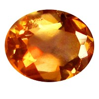 アンダルサイ​​ト ルーズジェームズ 0.34 ct AAA Oval Shape (5 x 4 mm) Brazilian Brownish Orange Andalusite Gemstone