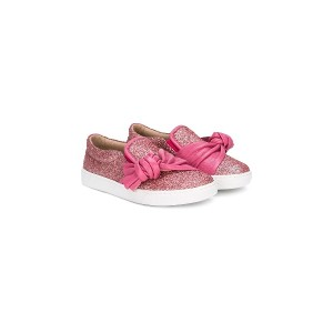 Florens knot glitter sneakers - ピンク&パープル