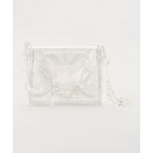 mame/マメ  Vinyl Chloride Long Chain Bag(MM5-AC094) CLEAR 【三越・伊勢丹/公式】 バッグ~~ハンドバッグ