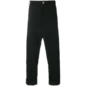 Alchemy cropped trousers - ブラック