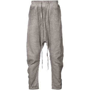 Army Of Me loose drop crotch trousers - グレー