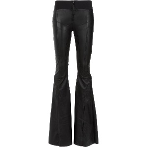 Andrea Bogosian panels flared trousers - ブラック