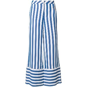 Love Moschino striped palazzo pants - ブルー