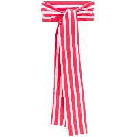 Peter Taylor striped scarf - レッド