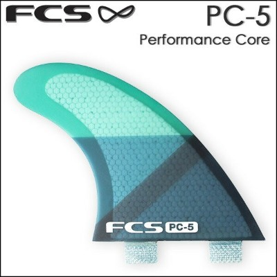 【20%OFF】フィン ショートボード サーフィン FCS エフシーエス FIN PC-5 PerformanceCore トライフィン