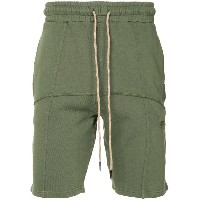 Liam Hodges piped track shorts - グリーン
