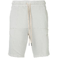 Liam Hodges piped track shorts - グレー