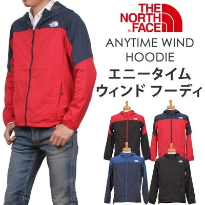 【5%OFF・国内送料無料】THE NORTH FACE ANYTIME WIND HOODIE(ザ・ノースフェイス/ エニータイム ウィンド フーディ)マウンテンパーカー/マンパ...