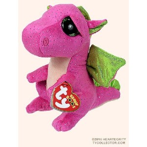 New TY Beanie Boos Cute Darla the dragon Plush Toys 6'' 15cm Ty Plush Animals Big Eyes Eyed Stuffed...