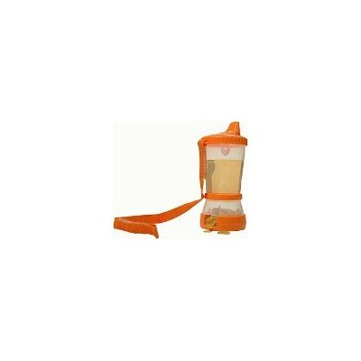 Sip 'N Snak No Spill Cup & Snack Container - Orange by Mommy's Helper