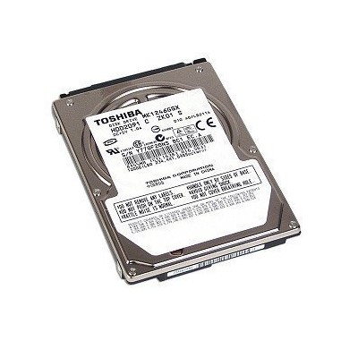 "Toshiba MK1246GSX 2.5"" 120 GB Internal Hard Drive for Notebooks (HDD2D91) by Toshiba [並行輸入品]"