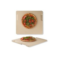 rocksheat CordieriteのピザストーンMade for Pizza & Bread Baking Grilling。Perfect forオーブンまたはグリル。革新的なユニークなDou...