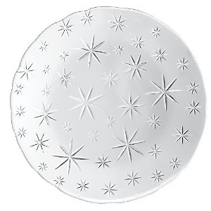 Nachtmann 95888 Stars Chargerplate (Set of 2), Clear by Nachtmann - The Life Style Division of...
