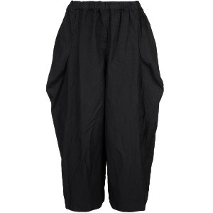 Comme Des Garçons cropped flared trousers - ブラック