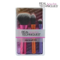 REAL TECHNIQUES 3type mini Make Up Brush Set