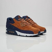 送料無料 店舗限定 海外限定 日本未発売 men's メンズ Nike Air Max 90 Premium Ale Brown Ale Brown Midnight Navy Sail...