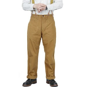 FREEWHEELERS フリーホイーラーズ GOLD MINER OVERALLS LATE 1800s STYLE WORK CLOTHING HEAVY Oz COTTON DUCK...