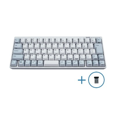 【送料無料】PFU製Happy Hacking Keyboard Professional BT 日本語配列/白Bluetooth-USBアダプタ セットKB620W-BTUSBA2