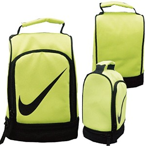 NIKE ナイキ INSULATED POCKET ランチバッグ クーラーバッグ -デザインC-蛍光イエロー【アメリカ買付商品】