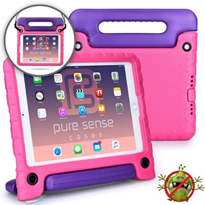 Pure Sense Cases BUDDY 抗菌 ケース 【 iPad 9.7 2018 / iPad 9.7 2017 / iPad Air2 / iPad Air 】 ショルダーストラップ...