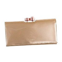 Ted Baker (テッドベーカー) 長財布 CECILIE PK 133157 PEARL BOBBLE PATENT MATINEE ROSEGOLD COL [並行輸入品]