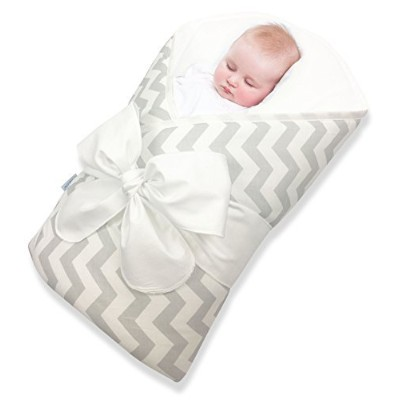 Bundlebee Baby Wrap/Swaddle/Baby Blanket -Removable Cushion for Neck and Back Support - High...