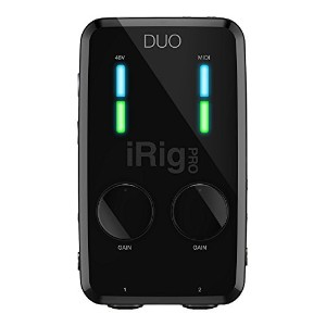 IK Multimedia iRig Pro Duo MIDI Lightning/USB対応 MIDIインターフェイス [並行輸入品]