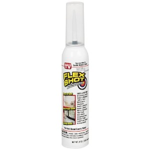 Flex Shot - Thick Rubber Adhesive Sealant (Jumbo, White) by Flex Seal