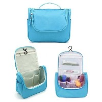 hosaire Toiletry Bag–Extra Large Travel Essentialsオーガナイザー–丈夫吊りフック–Forメンズレディース–Perfect...
