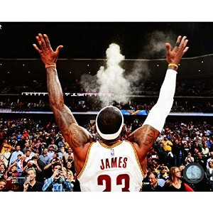 "Lebron James Cleveland Cavaliers 2014 NBAアクション写真(サイズ: 20 "" x 24 "" )"