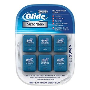 Oral-B Glide デンタルフロス クリーンミント 糸ようじ 6個パック(各40m)Glide Pro-Health Multi-Protection Clean Mint Floss...
