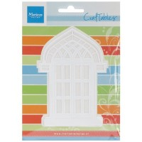Ecstasy Crafts Marianne Design Craftables Dies, 3.5 by 4.75-Inch, Arched Window by Ecstasy Crafts ...